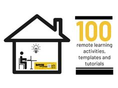 100 remote learning activities, templates and tutorials (1) Learning Tools, Learning Resources, Online Lessons, Lesson Plan Templates, Textbook, Tutorials, Remote, Training Online, Google