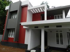 Evergreen and top 100 best Indian house designs model photo gallery a Kerala Model Houses are the best Indian houses and no other states can see such awesome kerala house models. Kerala House designs here Another best kerala and tamil nadu model house Indian Home Design, Indian Home Interior, Indian Home Decor, Exterior Paint Combinations, Color Combinations, Model House, 3d Architecture, Bungalow House Design, Indian Homes