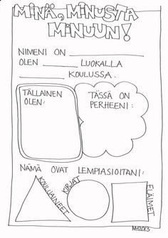 Preschool Portfolio, Finnish Language, My Future Job, Star Of The Week, Learn To Read, Primary School, Self Esteem, Special Education, Kids Learning