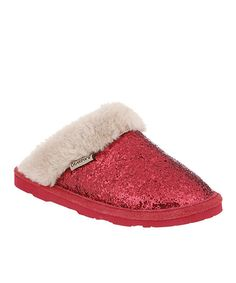 aa3859d713 Another great find on  zulily! Red Laney Slipper - Women by BEARPAW   zulilyfinds