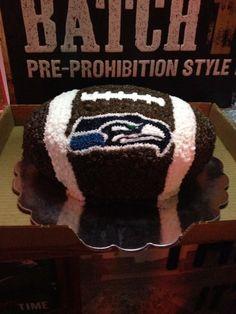 Seahawks Cake!