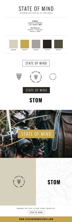 State of Mind Studio brand refresh. Our studio branding wasn't working for us so we made some slight changes to it. www.stateofmindst...