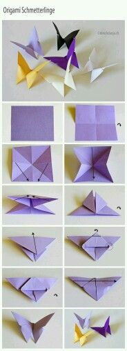 Origami Butterfly - Paper