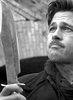 Lt. Aldo Raine (Brad Pitt ) -  Inglourious Basterds