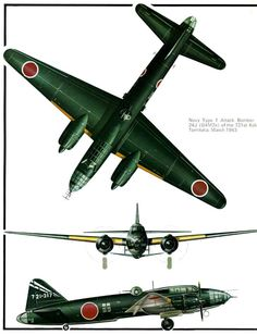 Mitsubishi G4M Betty & Ohka Bomb (210) Page 11-960