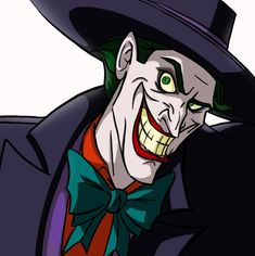 """""""Tsk, tsk… And to think our tax money goes to pay those jerks."""" - Batman: Mask of the Phantasm Right now I'm into incorporating my ver. Crafts For 3 Year Olds, Jokers Wild, Joker Card, Im Batman, Batman Stuff, Dc Comics Characters, Batman Universe, Joker And Harley Quinn, Comic Character"""