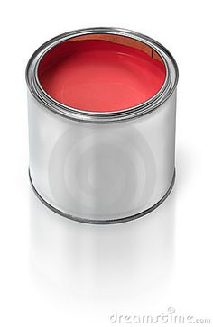 Red paint!