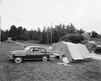 Bilderesultat for campingliv 1960