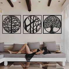 Stencil, Mandala, Home Decor, Decoration Home, Room Decor, Stenciled Table, Home Interior Design, Stenciling, Mandalas