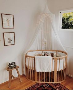 Nursery Decor. Love the crib! | Baby Nursery: 27+ Easy and Cozy Baby Room Ideas for Girl and Boys #nurserydecorideas