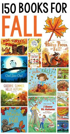 Check out this huge list of fall books for preschool through second grade! #fall #readaloud #preschool