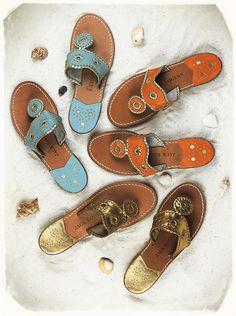 Jack Rogers sandals, my summer staple.