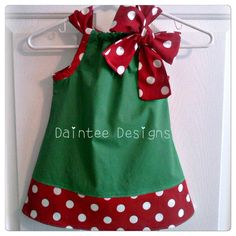 Daintee Christmas Girl by dainteedesigns on Etsy