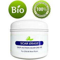 All Natural Scar Removal Cream for Face Legs  Body  Scar Cream for New Scars Old Scars  Stretch Marks  Anti Aging Cream for Men  For Women with Kokum Butter and Antioxidants Vitamin E  4 Oz ** Click image to review more details.