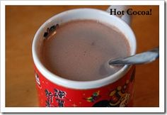 Healthy Hot Cocoa | Recipes, I used about 1 1/2 TBS for 2 servings half whole milk and 1/2 coconut milk