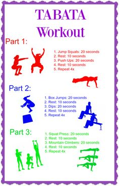 This challenging Tabata workout will help you get your fitness fast! Be done in minimal time with minimal equipment needed!