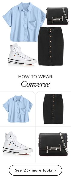 """""""And my heart burns only for you You are all you are all I want And my soul waits only for you And I will sing till the morning has come Lord my heart burns only for you"""" by kissmeunderthemoonlight on Polyvore featuring Monki, Converse and Tod's"""
