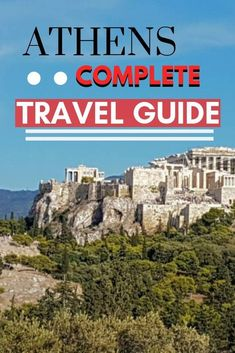 This complete travel guide to Athens Greece has everything you need to plan your own sightseeing itinerary. From things to see in Athens to where to stay this Athens guide is ideal whether you just have a day in Athens or a week! Europe Destinations, Europe Travel Tips, European Travel, Travel Guides, Europe Places, Travel Trip, Travel Packing, Amazing Destinations, Solo Travel