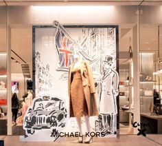 "MICHAEL KORS, Regent Street, London, UK, ""#DrawnToLondon"", pinned by Ton van der Veer"