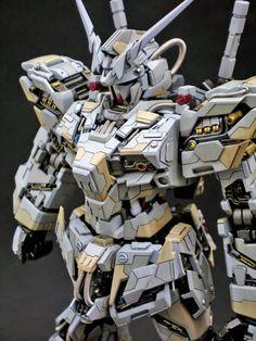 MG 1/100 Unicorn Gundam - Customized Build