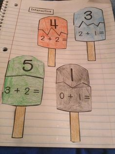 Addition Unit: Interactive Student Notebook (ISN) - The Right Way!