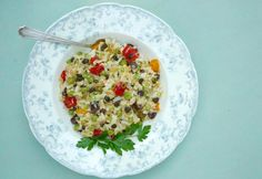 Rice and vegetable s