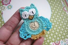 Cute owl applique