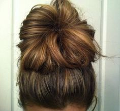i need to perfect the art of the messy bun.