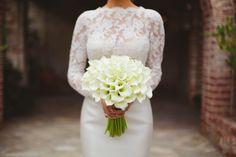 Morgan Stewart's white calla lily bouquet: http://www.stylemepretty.com/2016/06/20/rich-kids-of-beverly-hills-morgan-stewart-brendan-fitzpatrick-wedding/ | Photography: Closer to Love Photography - http://closertolovephotography.com/