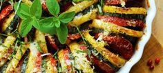 Σπιράλ λαχανικών, στο φούρνο