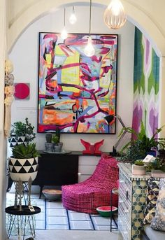 love this art. i want something cool, abstract, colourful just like this!