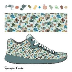 Georgia Coote | Make It In Design | Surface Pattern Design | Summer School 2015 | Eco Active Organic Decay | Intermediate Creative Brief