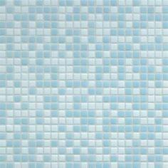 #Bisazza #Blends #Opus Romano 12x12 mm Azzurra | Glass | im Angebot auf #bad39.de 196 Euro/Pckg. | #Mosaik #Bad #Küche