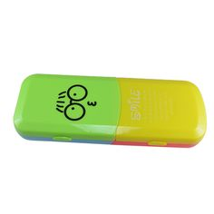 Saamarth Impex Smiley Cartoon Art Plastic Pencil Box  (Set of 1, Multicolor)  #pencil #pen #box #pencilcase #pencilbox #stationery #accessories #school #student