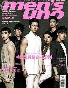 2PM - Men's Uno Magazine April Issue '12
