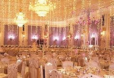 Something, sparkly, bright, shiny- sounds like a NYC wedding reception to me!