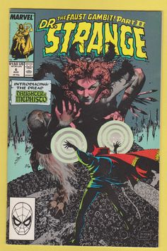 "Doctor Strange, Sorcerer Supreme #6, ""Demonic Re-Possession"" (August, 1989). Cover by Jackson Guice."
