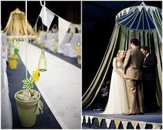 Green and Yellow Boho Wedding | Bridal Musings (21)