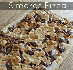 Table for 7: S'mores Pizza with Homemade Pizza Dough