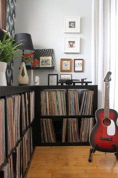 Michelle - Blog #Music #Corner Fonte : http://www.wandererspalace.com/2014/04/06/at-home-music-station-essentials/