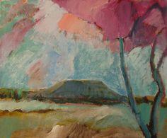 Mt Nullum  Oil painting by Murwillumbah artist Phil Barron