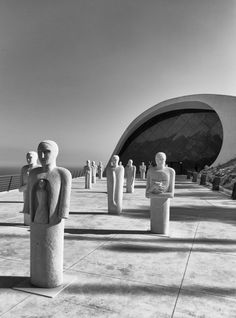 Auditorium Oscar Niemeyer, Ravello Italy | Image : Mariodp