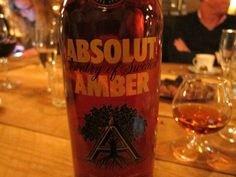 Read our exclusive review of Absolut Amber Oak Aged Vodka