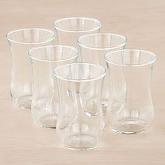Tulip Turkish Tasting Glasses, Set of 6 | Drinkware| Kitchen & Dining | World Market