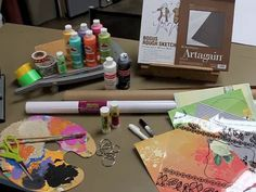 "how to video on creating a ""Doodlicious Daybook"" art journal"