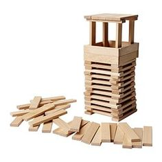 FUNDERA Building blocks - IKEA £8/100 pack
