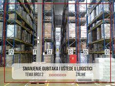 SMANJENJE TROŠKOVA U LOGISTICI: Kako upravljati zalihama?  –   Logistika, špedicija, transport, skladišta – Pluton Logistics