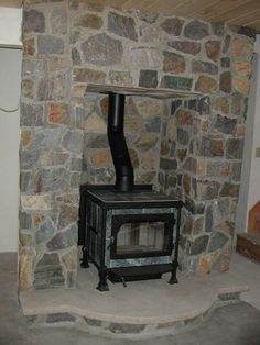 how to build a mantle over a pellet stove