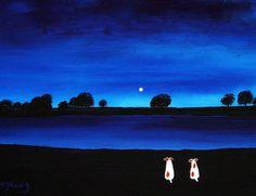 Jack+Russell+Terrier+Dog+Modern+Folk+Art+PRINT+of+by+ToddYoungArt,+$13.99