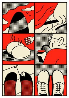 Here is the comic I did for the first issue of Spread Magazine.